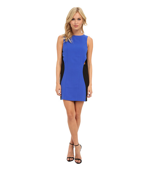 StyleStalker - Where The Party At Dress (Blue/Black) Women's Dress