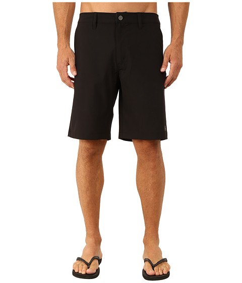 Quiksilver Waterman - Striker 3 Walkshorts (Black) Men