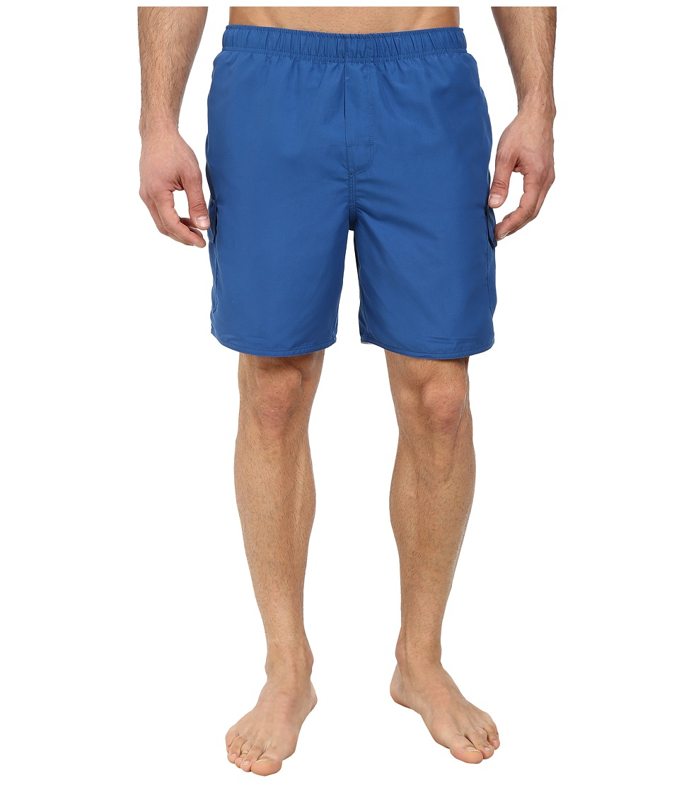 Quiksilver Waterman - Balance 6 Elastic Waist Volley Short (Marina) Men's Shorts