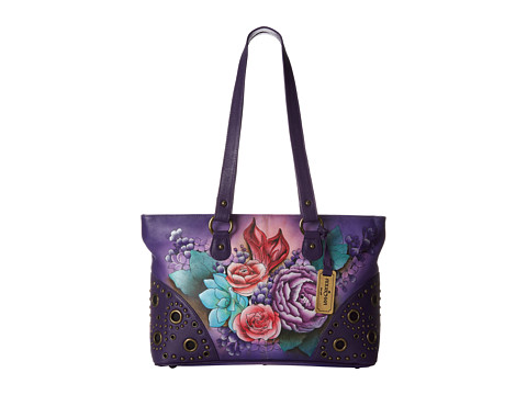 Anuschka Handbags - 430 (Lush Lilac) Shoulder Handbags