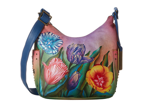 Anuschka Handbags - 433 (Turkish Tulips) Handbags