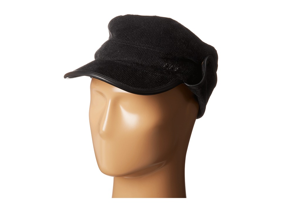 John Varvatos Star U.S.A. - Military Cap (Black) Caps