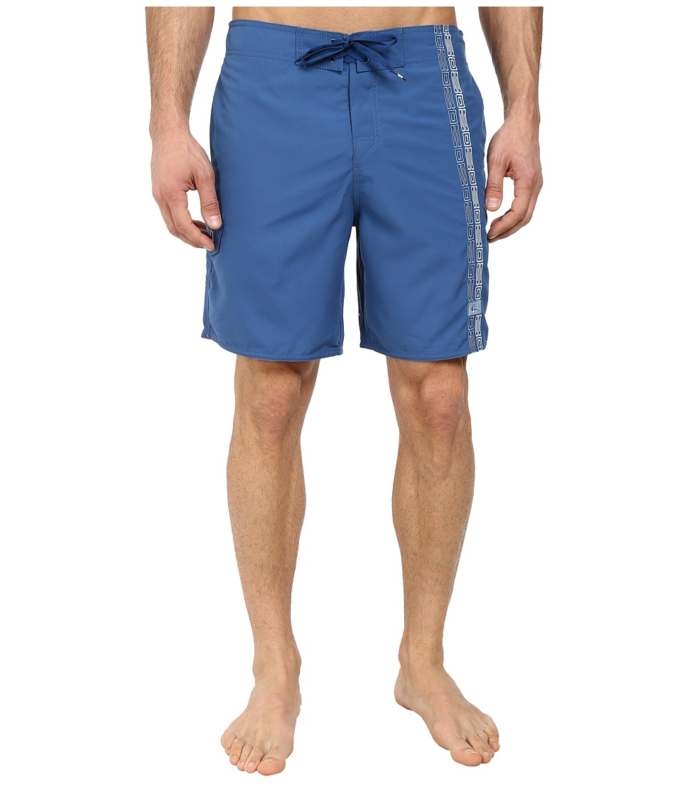 Quiksilver Waterman - Freeport Elastic Waist Volley Short (Indigo) Men's Shorts