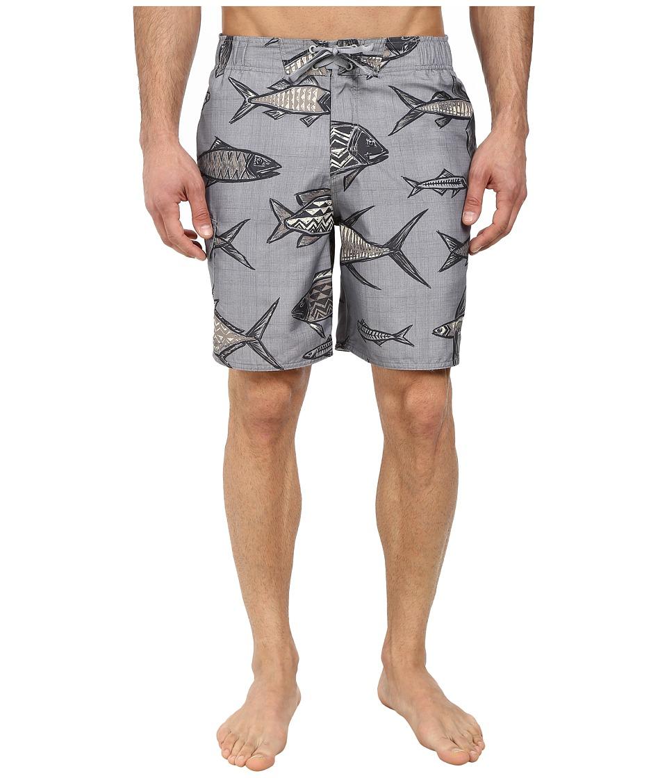 Quiksilver Waterman - Dorado Elastic Waist Volley Short (Zinc) Men's Swimwear