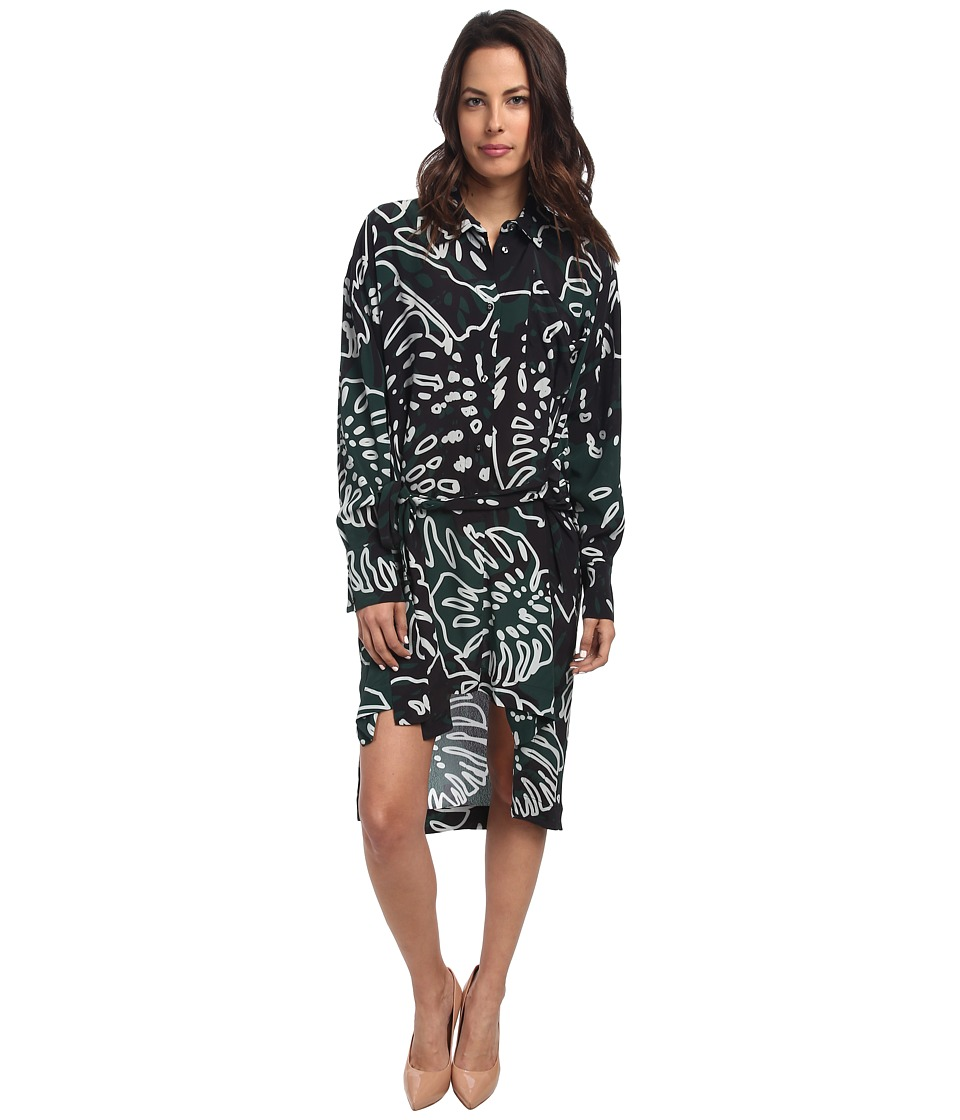 Vivienne Westwood - Faith Dress (Green Print) Women's Dress