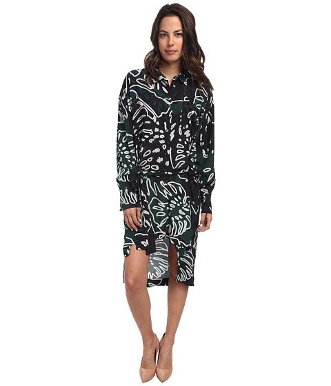 Vivienne Westwood Anglomania - Faith Dress (Green Print) Women