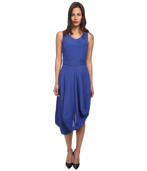 Vivienne Westwood Anglomania - Hunter Dress (Cobalt Blue) Women's Dress