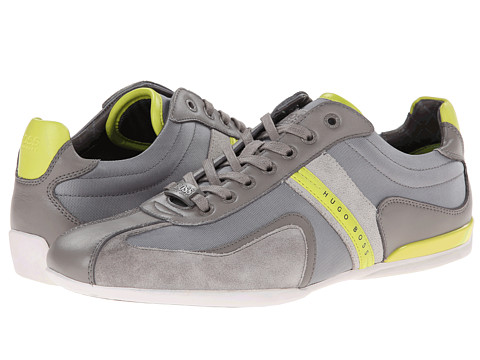 BOSS Green - Space Up (Medium Grey) Men's Lace up casual Shoes