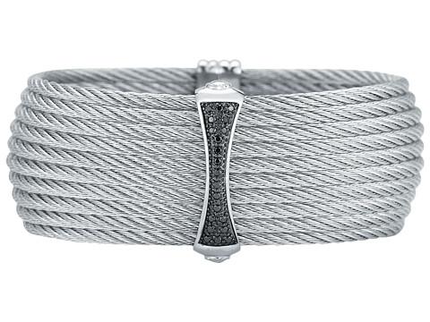 ALOR - Bracelet - Classique - 04-32-S617-18 (Grey/Black) Bracelet