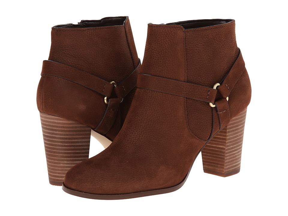 Cole Haan - Calixta Bootie (Chestnut Suede) Women's Boots