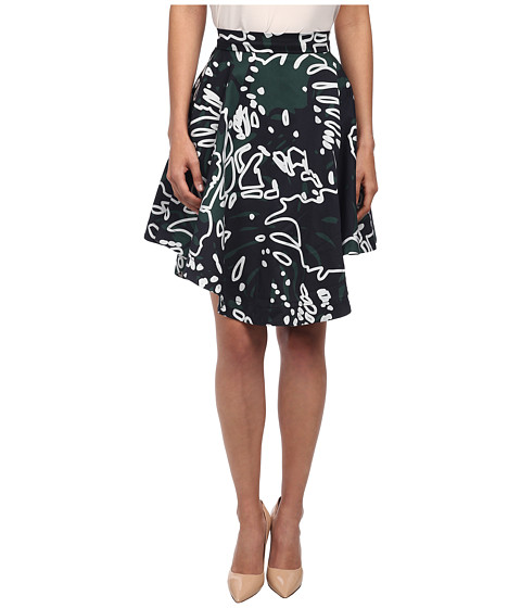 Vivienne Westwood Anglomania - Hydra Skirt (Forest/Grey Cheeseplant) Women's Skirt