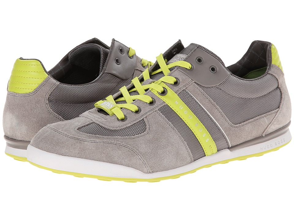 BOSS Green - Akeen (Medium Grey 1) Men's Shoes