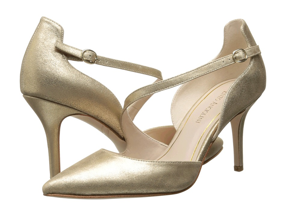 Enzo Angiolini - Czarlita (Light Gold Suede) Women