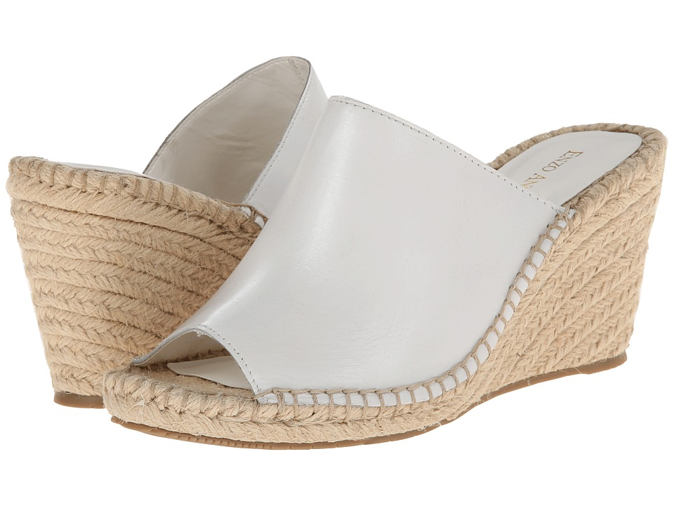 Enzo Angiolini Dakan (White Leather) Women