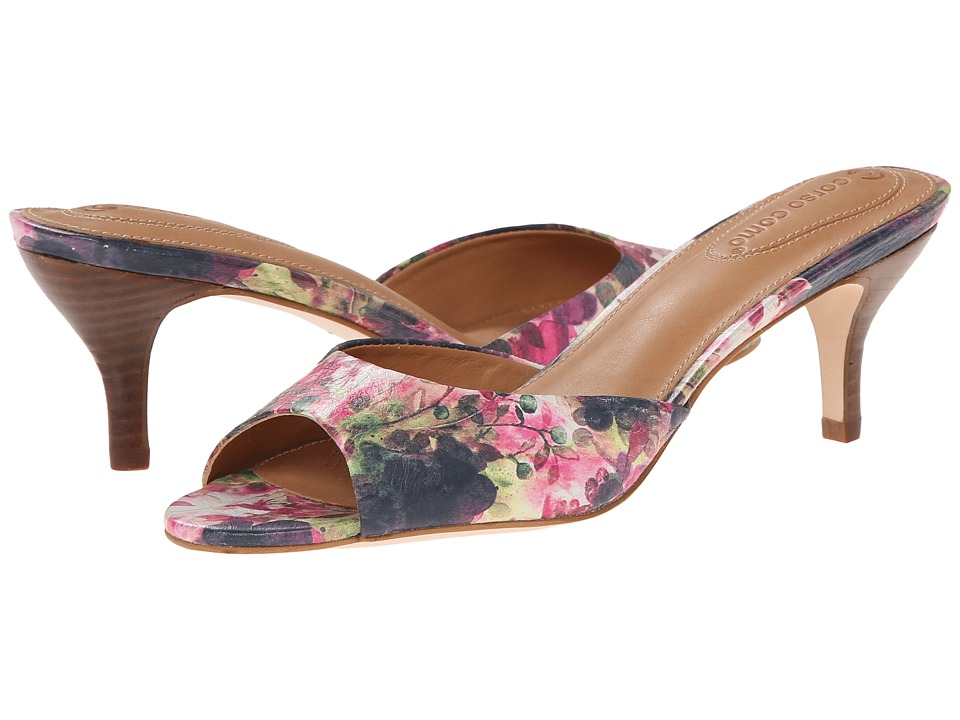 Corso Como - Query (White Floral) High Heels