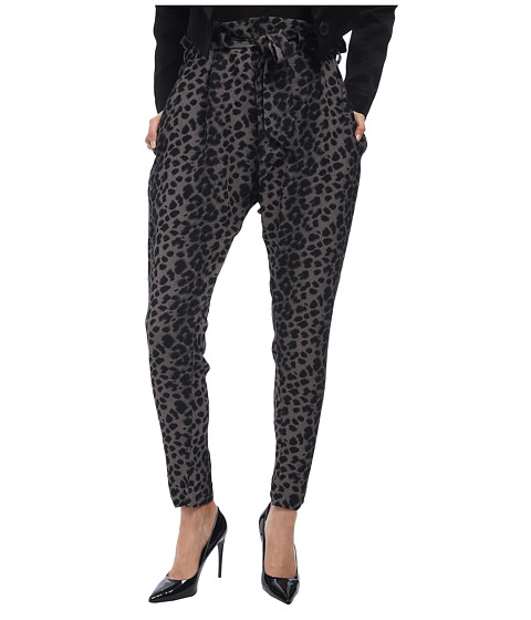 Vivienne Westwood Anglomania - Kung Fu Pant (Grey/Black Leopard) Women's Casual Pants