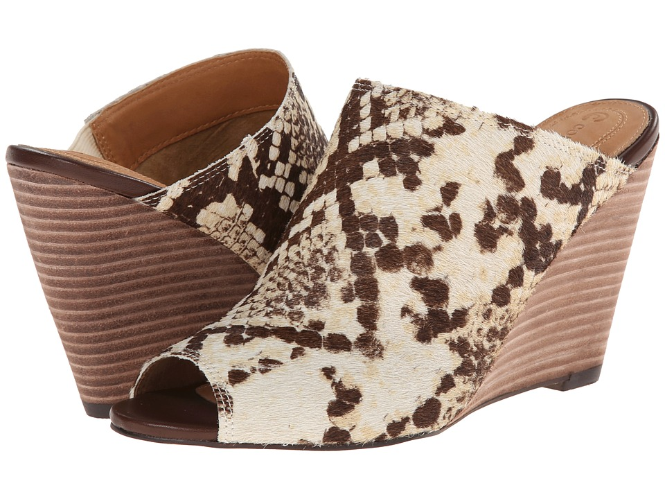 Corso Como - Central (Natural Multi Snake) Women's Wedge Shoes
