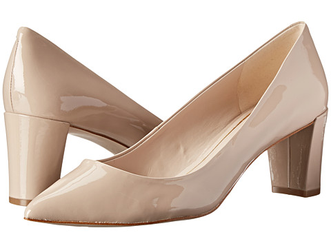Enzo Angiolini - Jyssika (Light Natural Patent) High Heels