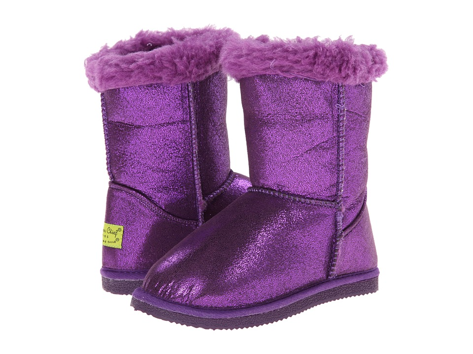 Western Chief Kids Shimmer Boot (Toddler/Little Kid) (Purple) Girls Shoes