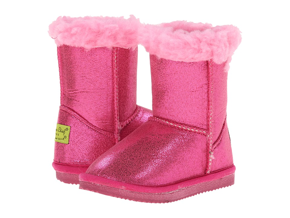 Western Chief Kids - Shimmer Boot (Toddler/Little Kid) (Pink) Girls Shoes