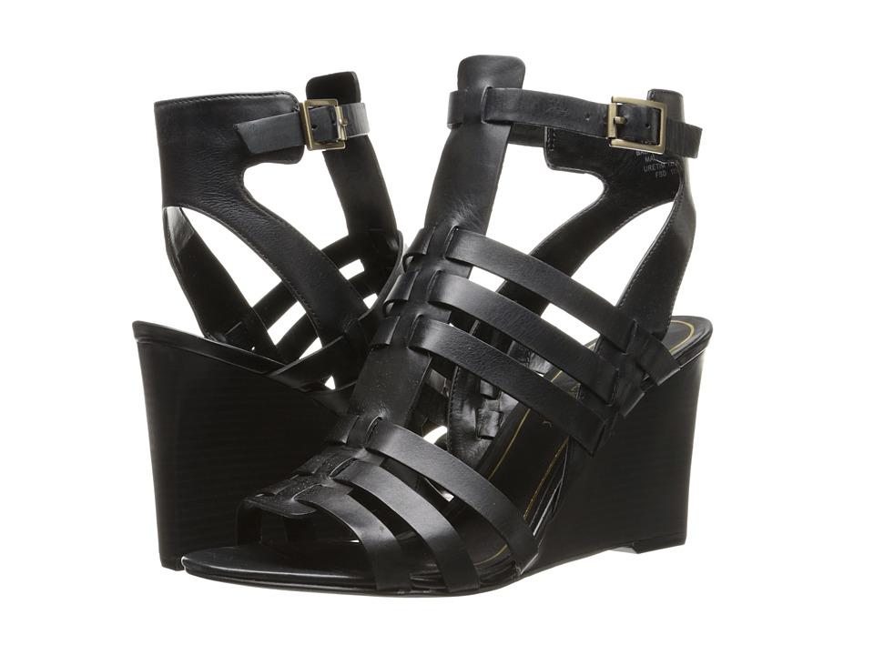 Enzo Angiolini Vanhi (Black Leather) Women