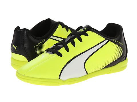 Puma Kids - Adreno IT Jr (Little Kid/Big Kid) (Safety Yellow/White/Black) Kids Shoes