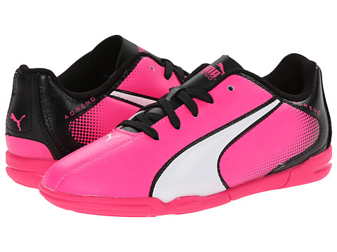 Puma Kids - Adreno IT Jr (Little Kid/Big Kid) (Knockout Pink/White/Black) Kids Shoes