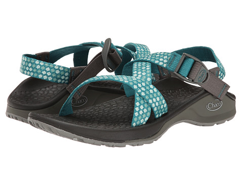 Chaco - Updraft EcoTread (Teal Beams) Women's Sandals