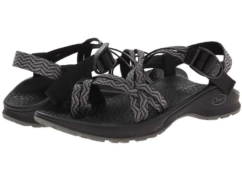 Chaco - Updraft EcoTread X2 (Black Waves) Women's Sandals