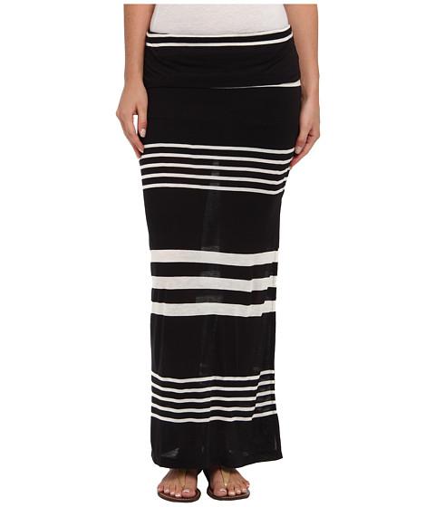 Rip Curl - Sunset Stripe Maxi Skirt (Black) Women's Skirt