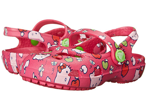 Crocs Kids - Shayna Hello Kitty (Toddler/Little Kid) (Candy Pink) Girl's Shoes
