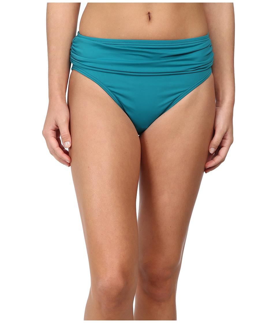 Tommy Bahama - Pearl Solids High Waist Sash Pant (Azurite) Women's Swimwear