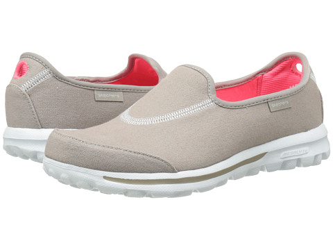 SKECHERS Performance - Go Walk - Extend (Stone) Women's Flat Shoes