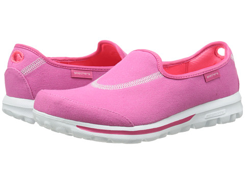 SKECHERS Performance - Go Walk - Extend (Hot Pink) Women's Flat Shoes