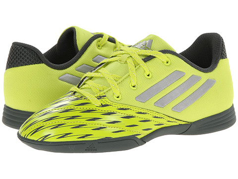 adidas Kids - Free Football Speedkick J (Little Kid/Big Kid) (Semi Solar Yellow/Silver Metallic/Urban Peak) Kids Shoes