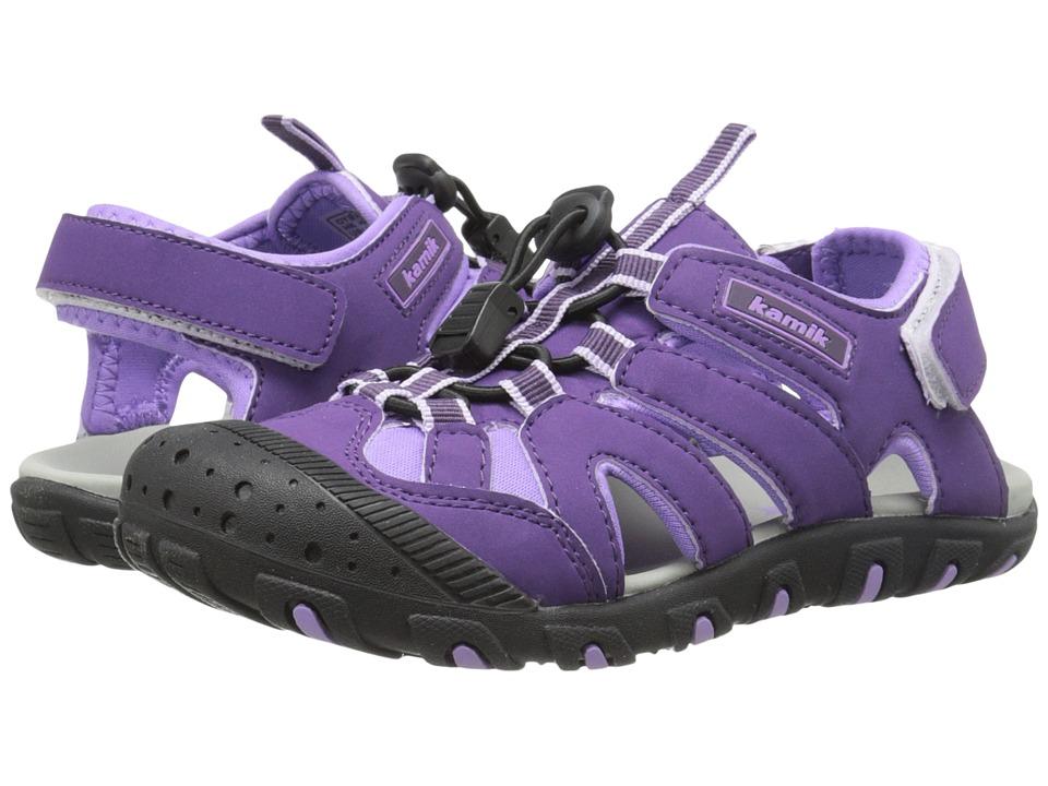 Kamik Kids - Oyster (Toddler/Little Kid/Big Kid) (Purple) Girl