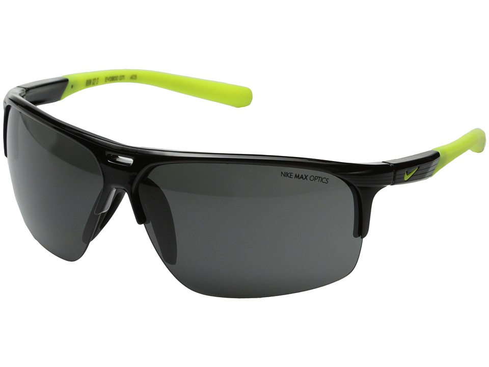 Nike - Run X2 (Matte Black/Black) Sport Sunglasses