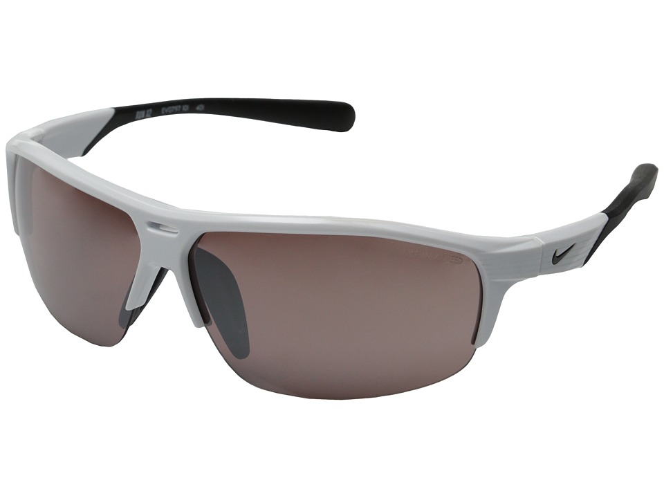 Nike - Run X2 (White/Black) Sport Sunglasses