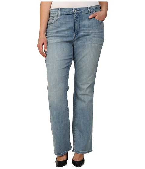 NYDJ Plus Size - Plus Size Billie Mini Boot in Manhattan Beach (Manhattan Beach) Women's Jeans