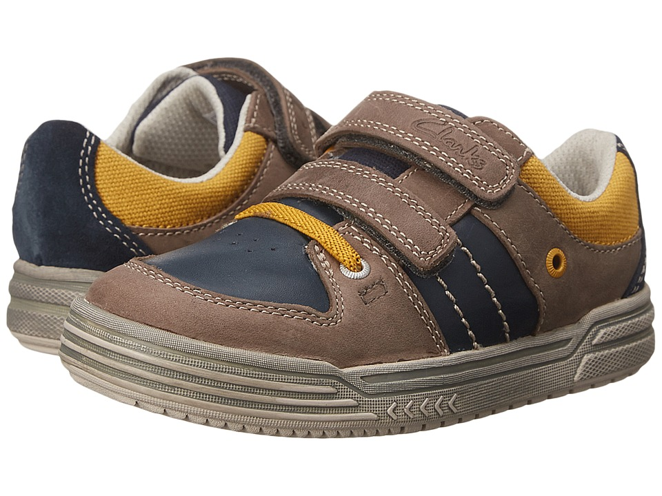 Clarks Kids - Chad Skate (Toddler/Little Kid) (Navy) Boys Shoes