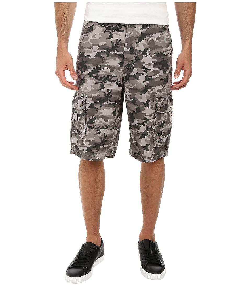 Life is good - 12 Cargo Shorts (Stone Grey) Men