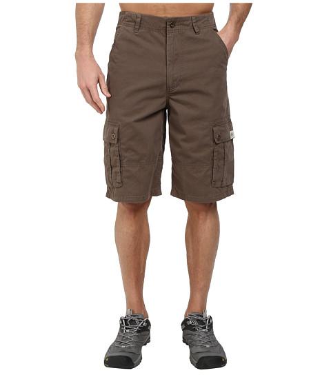 Life is good - 12 Cargo Shorts (Dark Brown) Men's Shorts