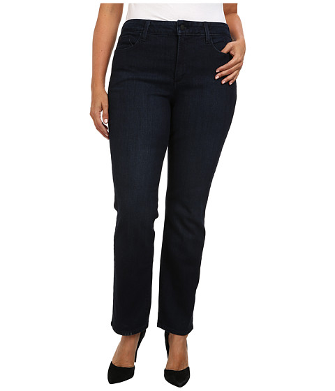 NYDJ Plus Size - Plus Size Marilyn Straight in Newburgh (Newburgh) Women's Jeans