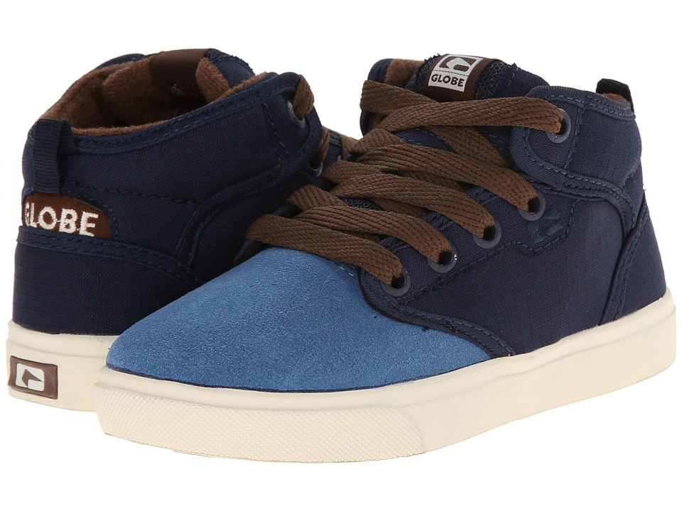 Globe - Motley Mid (Little Kid/Big Kid) (Blue/Dark Blue) Men