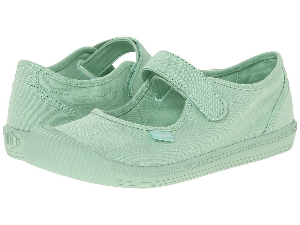 Palladium Kids - Flex MJ M TO (Little Kid) (Pistachio) Girls Shoes