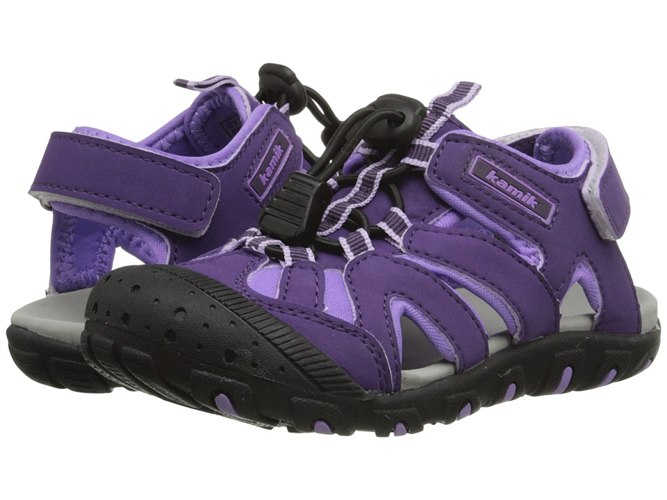 Kamik Kids - Oyster (Toddler) (Purple) Girl's Shoes