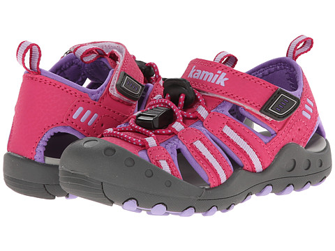 Kamik Kids - Crab (Toddler) (Fuchsia) Girls Shoes