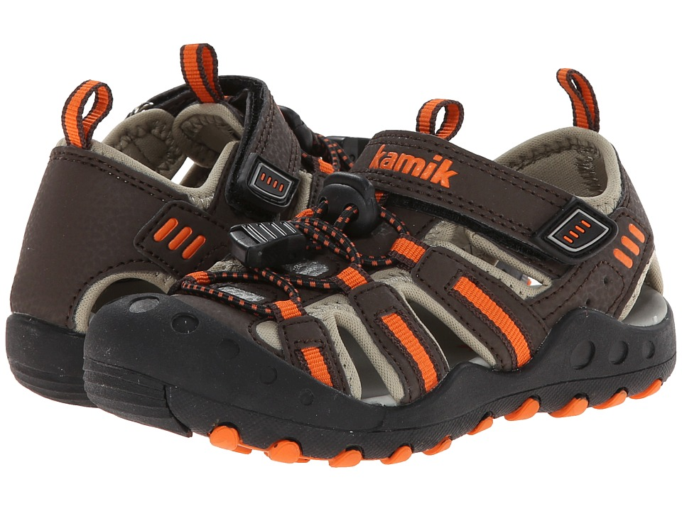 Kamik Kids - Crab (Toddler) (Orange) Boy's Shoes