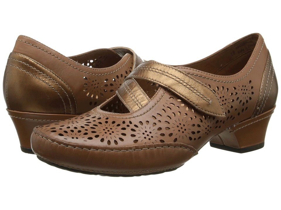 Aravon Flex-Lacey (Brown) Women