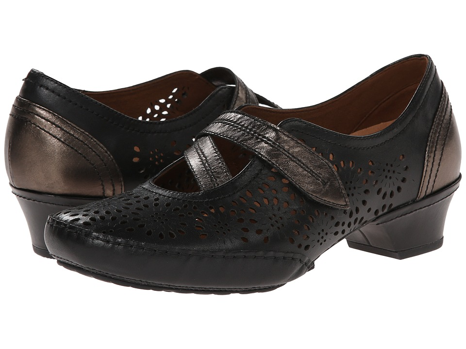 Aravon - Flex-Lacey (Black) Women's Maryjane Shoes